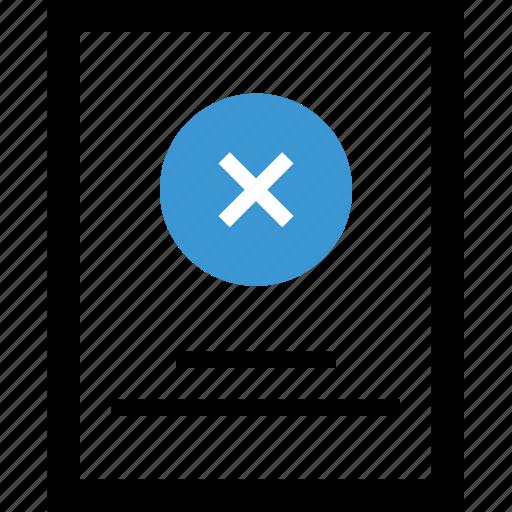 close, denied, error, stop, x icon