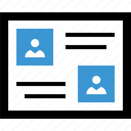 chat, converation, timeline icon