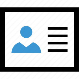 boss, id, person, profile, staff, user icon