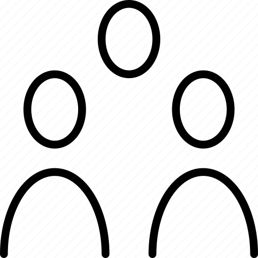 crowd, group, humans, people icon