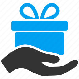 christmas, decoration, free offer, gift, package, present box, prize icon