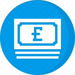 cash, currency, finance, money, pound icon