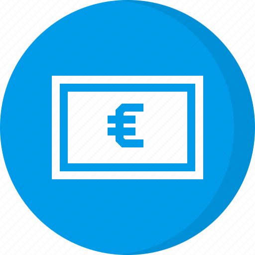 Cash, currency, euro, finance, money icon - Download on Iconfinder