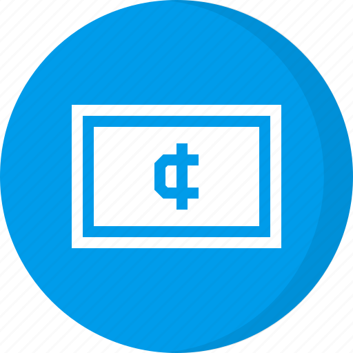cash, cedi, currency, finance, ghana cedi, money icon