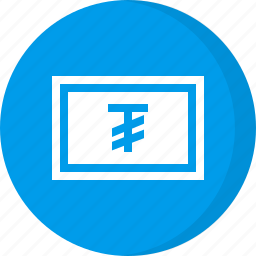 currency, finance, money, tughrik icon
