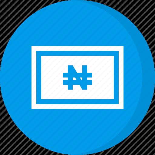 cash, currency, finance, money, naira, nigerian naira icon