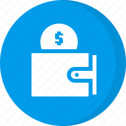 cash, coin, finance, pouch, purse, wallet icon