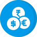coins, currency, finance, money icon