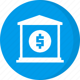 bank, banking, deposit, finance, investment icon