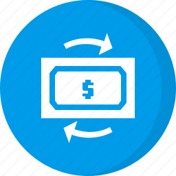 cash, exchange, finance, money, payment icon