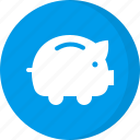 deposit, dollar, finance, financial, money, piggy bank, savings icon