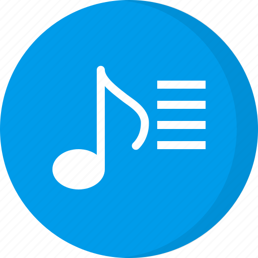 multimedia, music playlist, playlist, song list, songs icon