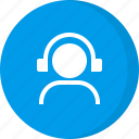 customer care, customer service, help, helpline, multimedia, music, support icon