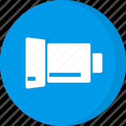 camera lens, multimedia icon