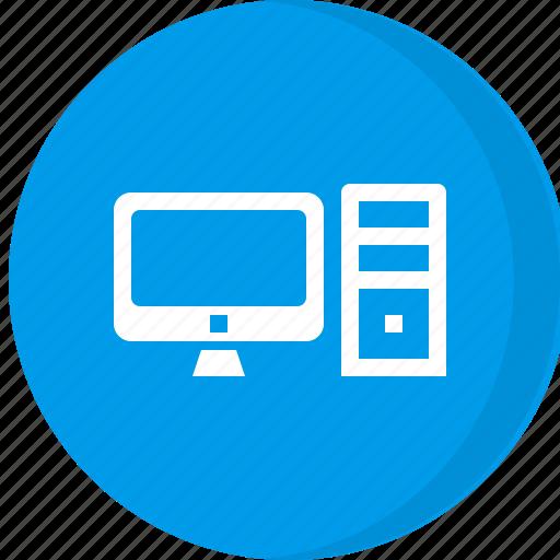 computer, desktop, multimedia, pc icon