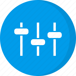control, equalizer, multimedia, options, preferences, setting, settings icon