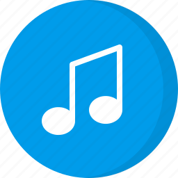 multimedia, music, music note, musical notation, musical symbol icon