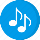 melody, multimedia, music note, music on, rhythm, song icon