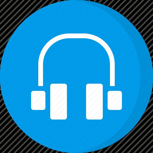 audio, customer service, earphones, headphones, helpline, multimedia, music icon