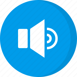 multimedia, sound level, volume, volume level, volume up icon