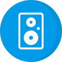 loud speaker, loudspeaker, multimedia, music, sound, speaker icon