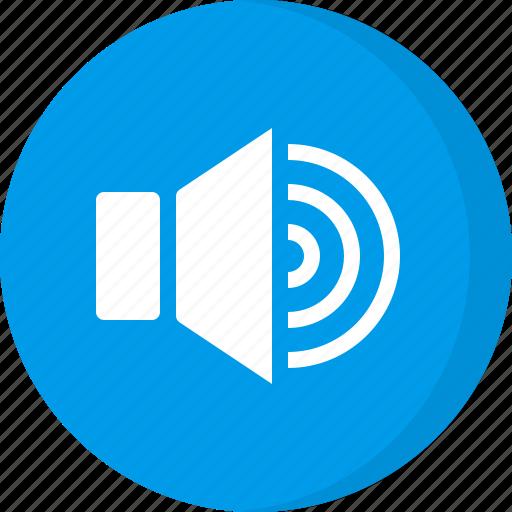 multimedia, sound level, volume, volume control, volume level, volume up icon