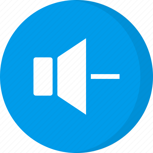 decrease, multimedia, reduce, volume, volume level, volume minus icon