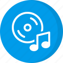 album, cd, dvd, multimedia, music cd icon
