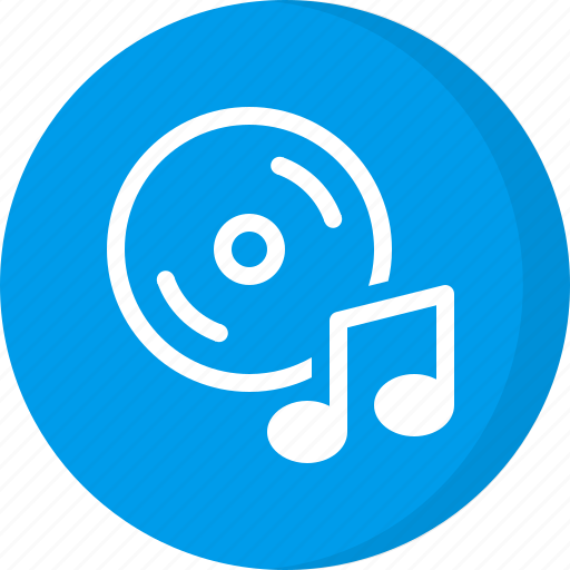 album, cd, dvd, multimedia, music cd icon