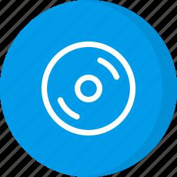 cd, dvd, multimedia icon