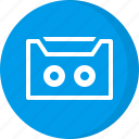 cassette, cassette tape, multimedia, music, tape icon