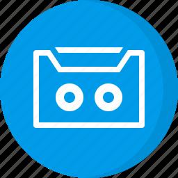 cassette, cassette tape, multimedia, music, tape icon