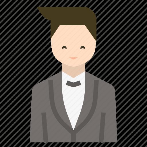 avatar, gentleman, groom, love, man, wedding icon