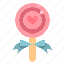 candy, lollipop, love, sweet, valentine