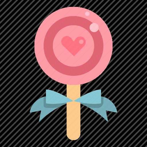 Candy, lollipop, love, sweet, valentine icon - Download on Iconfinder