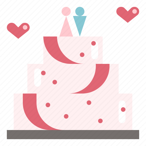 Cake, celebration, couple, love, marriage, wedding icon - Download on Iconfinder