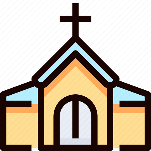 building, church, wedding icon