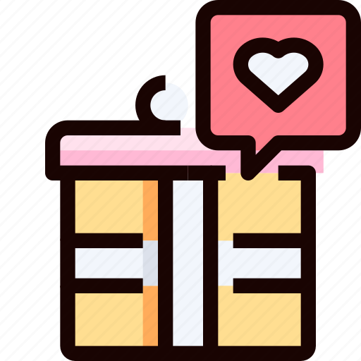 gift, heart, love, shop, shopping icon
