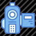 camera, film, technology, video icon
