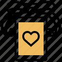 box, gift, present, ribbon, wedding icon