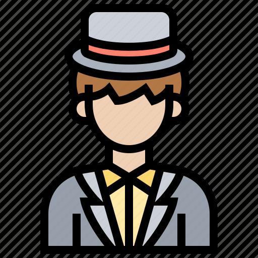 clothes, groom, man, suit, wedding icon