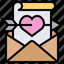 card, ceremony, invitation, letter, wedding icon