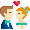 kiss, love, marriage, romance, romantic, wedding