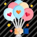 balloons, celebration, decoration, ornament, party, rousing