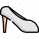 bride, fashion, marriage, shoes, wedding, woman icon