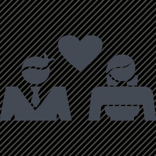bride, greeting, groom, invitation, love, wedding, wedding ceremony icon