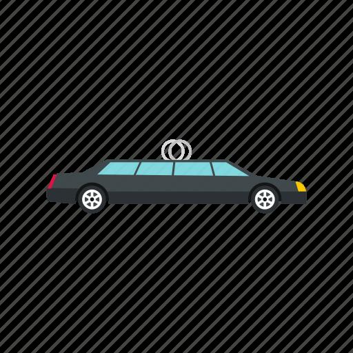auto, automobile, car, celebration, modern, transport, wedding icon