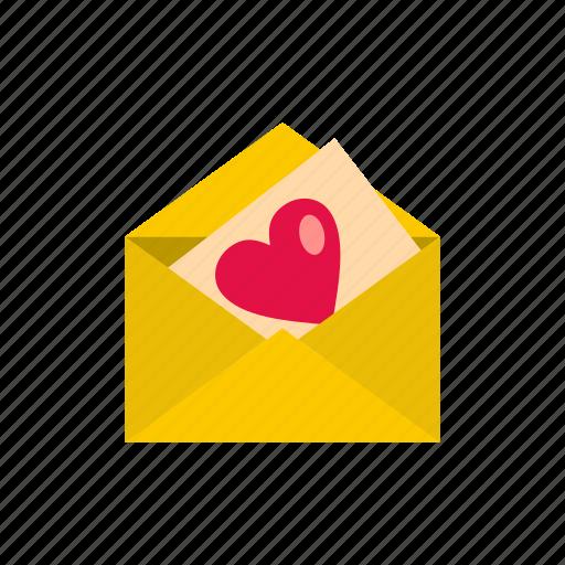 day, heart, letter, love, romance, romantic, valentine icon