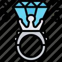 diamond, ring, engagement, value, jewelry