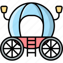 carriage, buggy, transport, vehicle